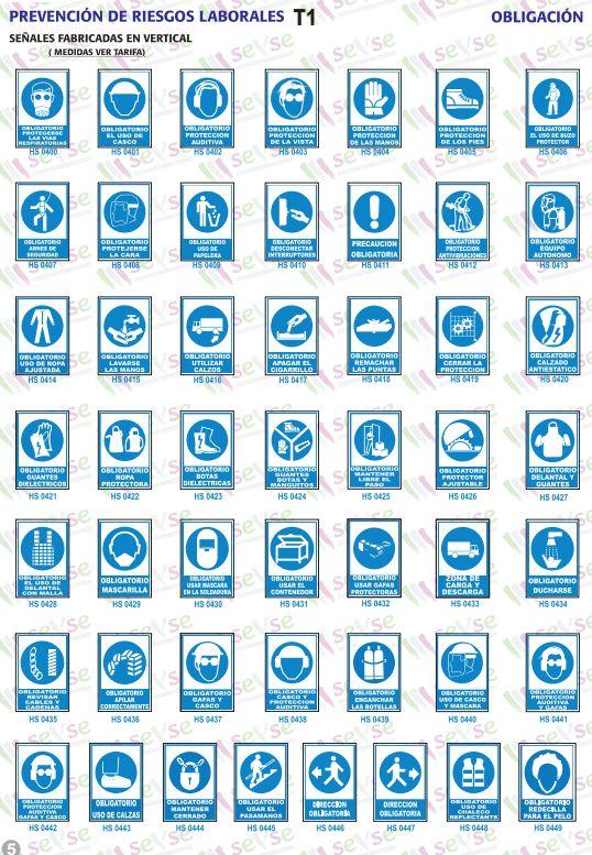Señales de obligación: Servicios de Señalización y Serigrafía