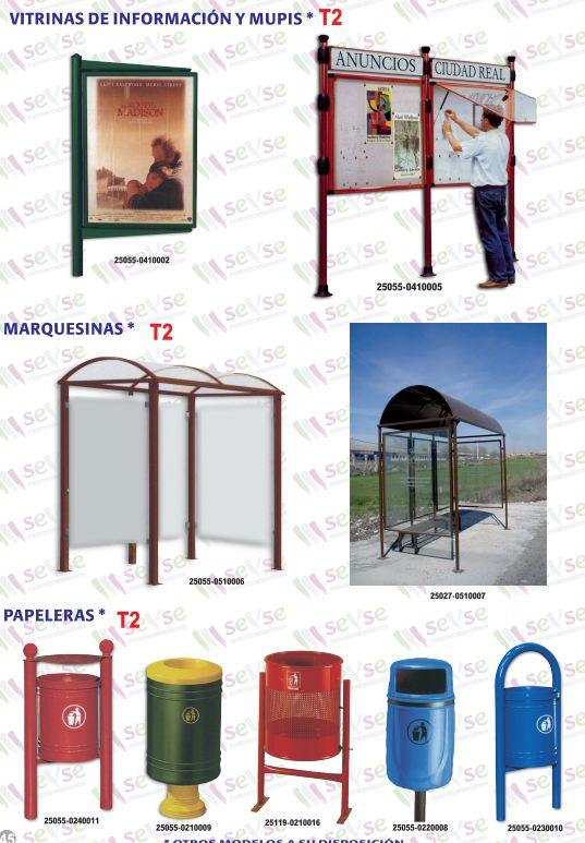 Mobiliario urbano: Servicios de Señalización y Serigrafía