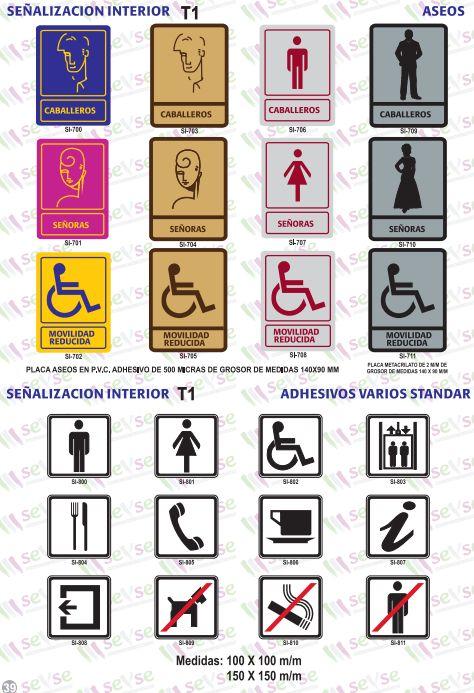 Señalización de interiores: Servicios de Señalización y Serigrafía
