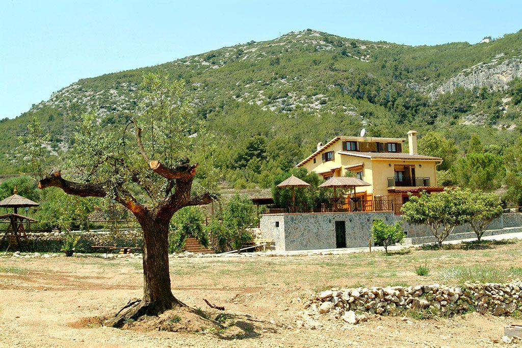 Casa rural especial para grupos en Canyelles