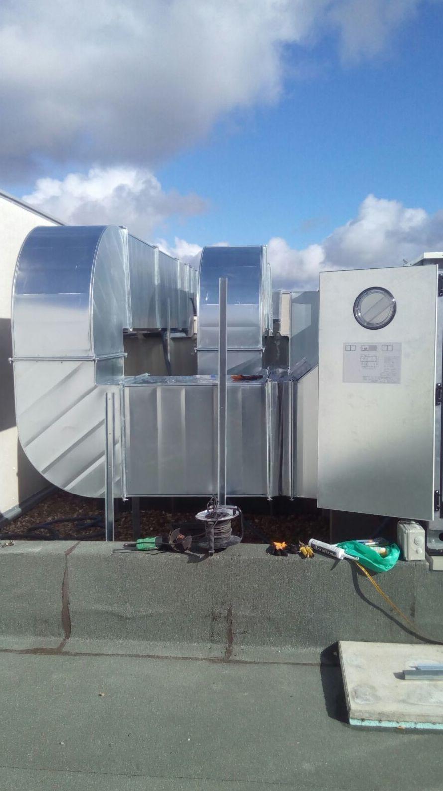 Instalación de conductos de aire acondicionado en Barcelona