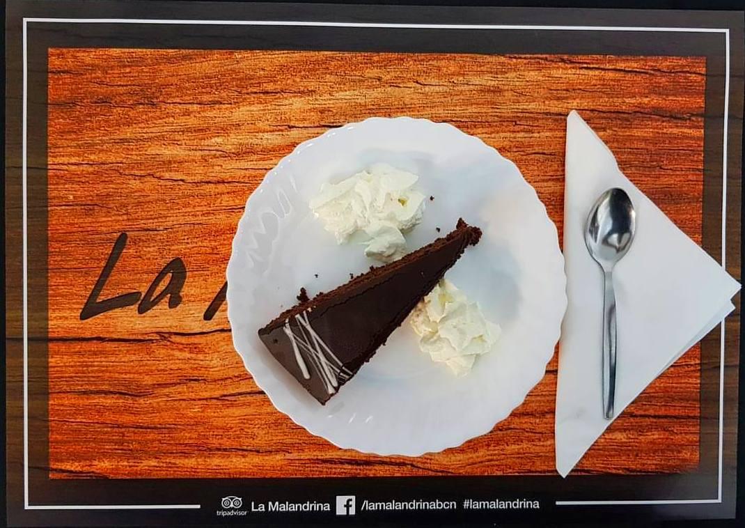Tarta de Chocolate con toque sabor a naranja