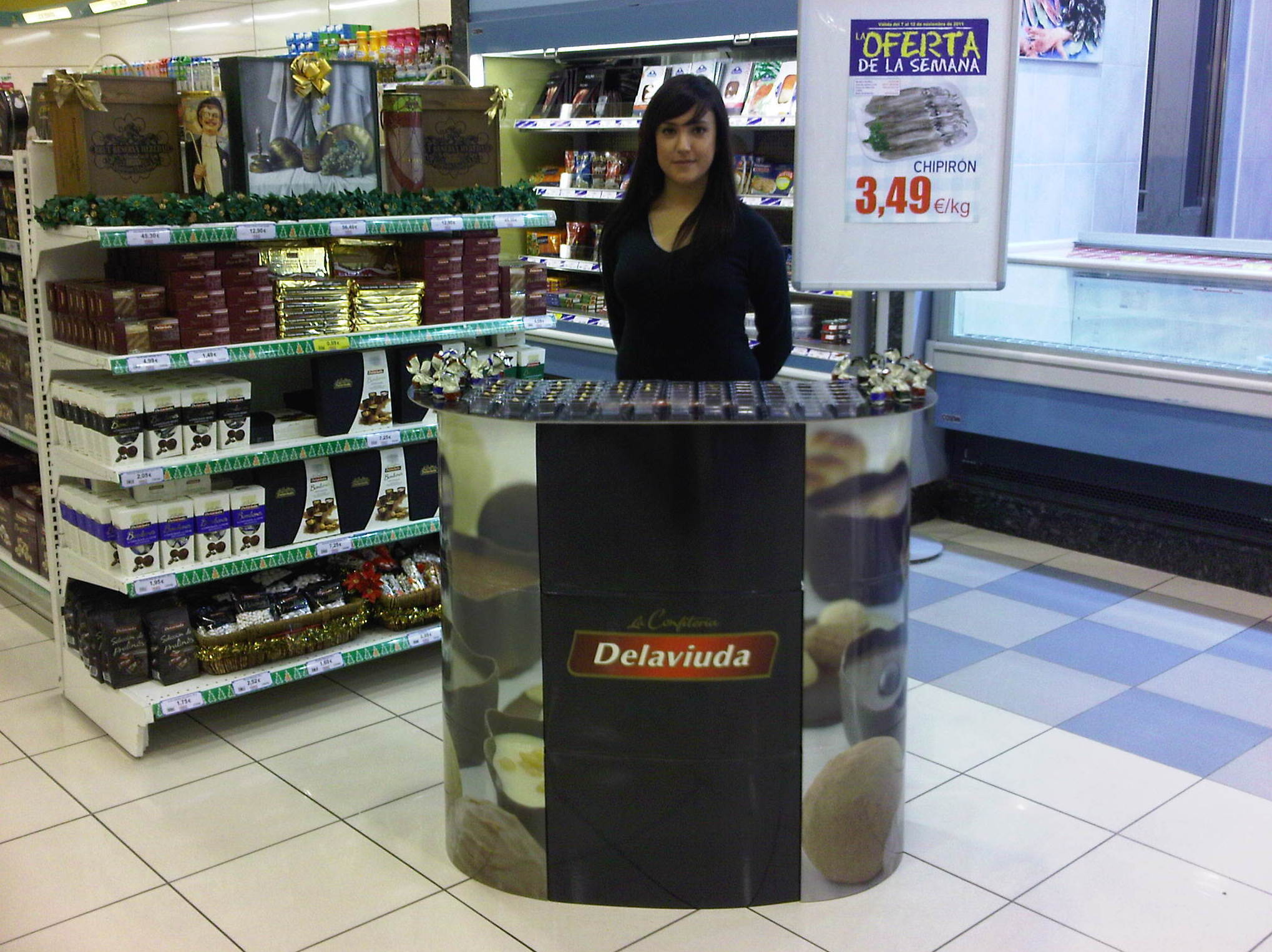 Azafatas para promoción de productos