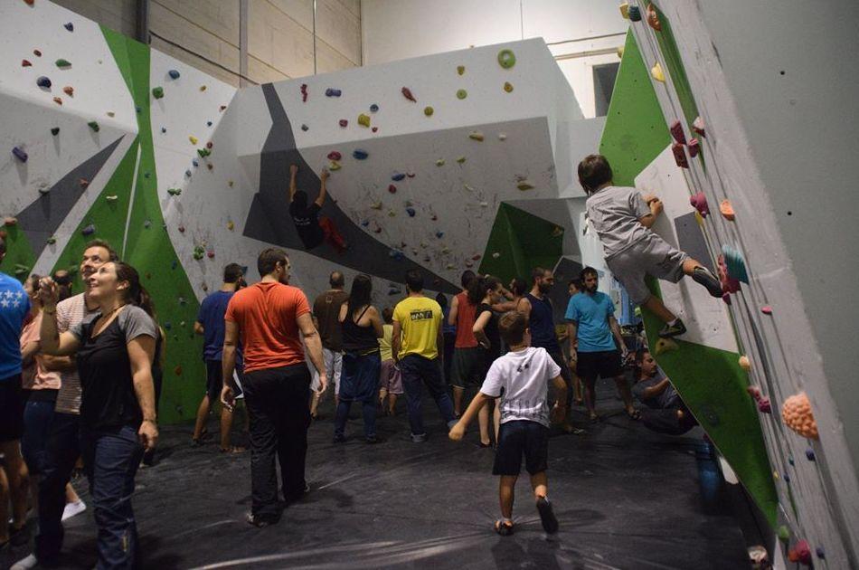 Escuela de escalada en Getafe