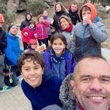 Primera salida de los PEQUESOCIOS de UP- Escuela de escalada.
