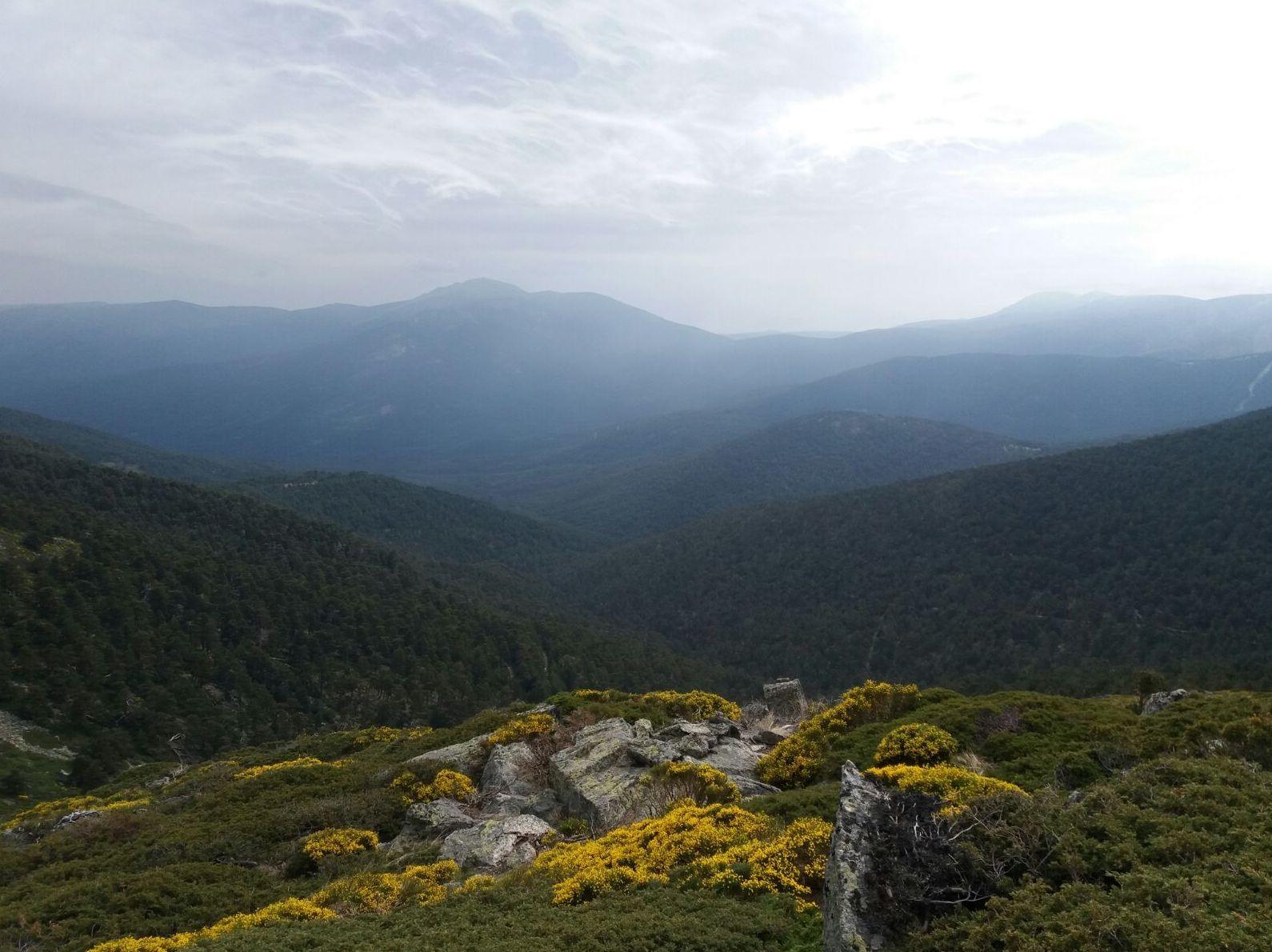 Dame Roca descubriendo maravillosas vistas