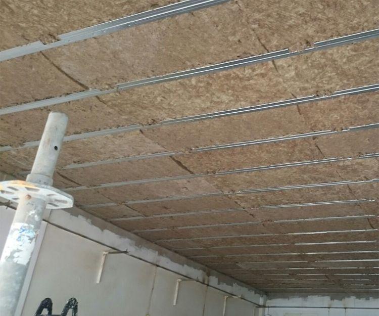Aislamiento de techos en chalé de Tafira