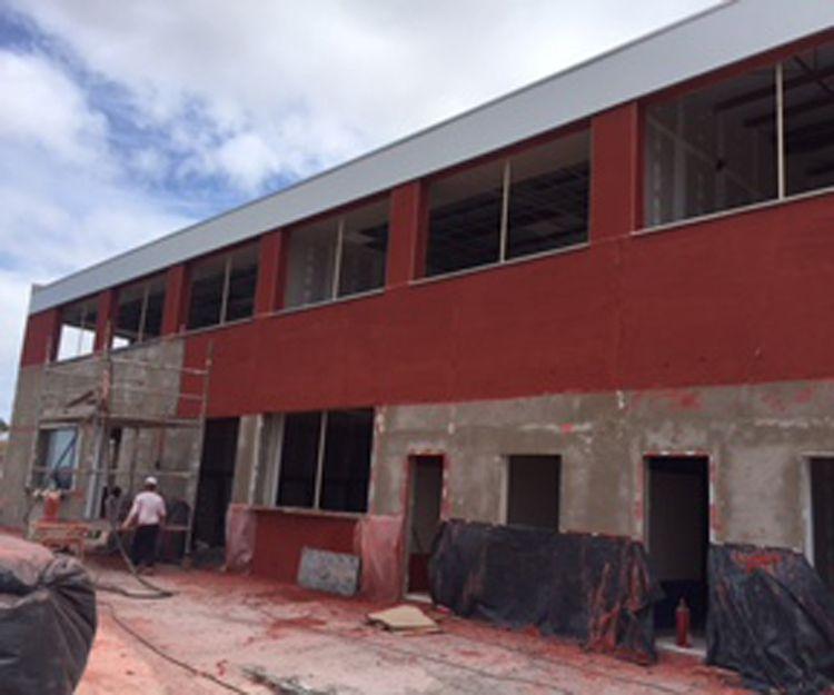 Rehabilitación de la fachada del colegio alemán Las Palmas
