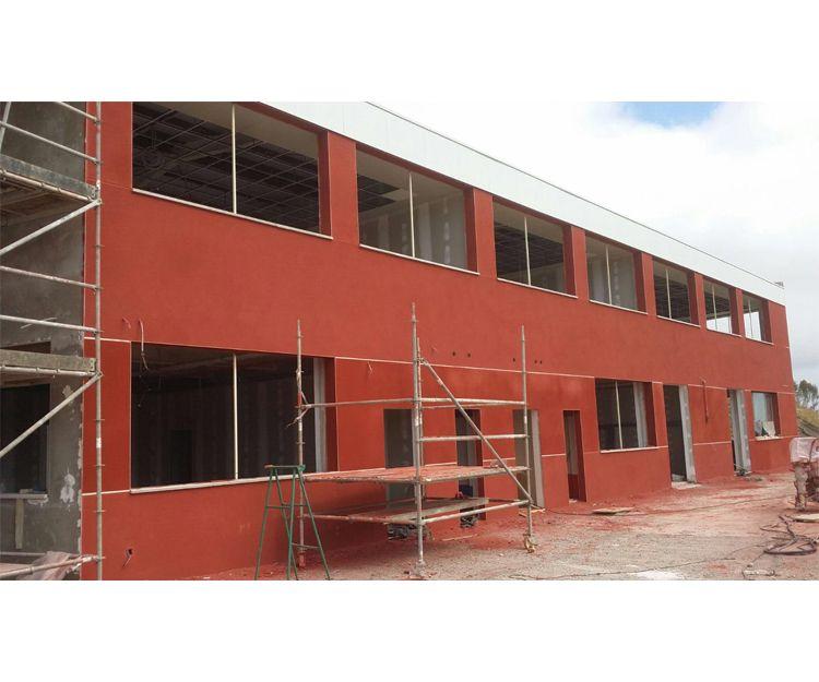Reforma de la fachada del colegio alemán Las Palmas