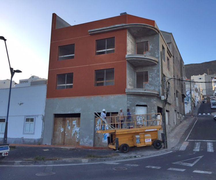 Reforma de fachada Gran Tarajal