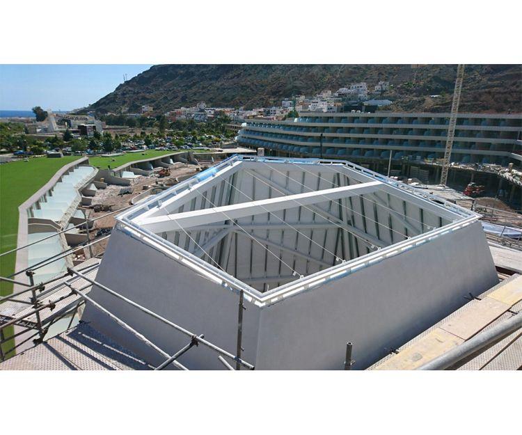 Construcción del Hotel Radisson Mogan