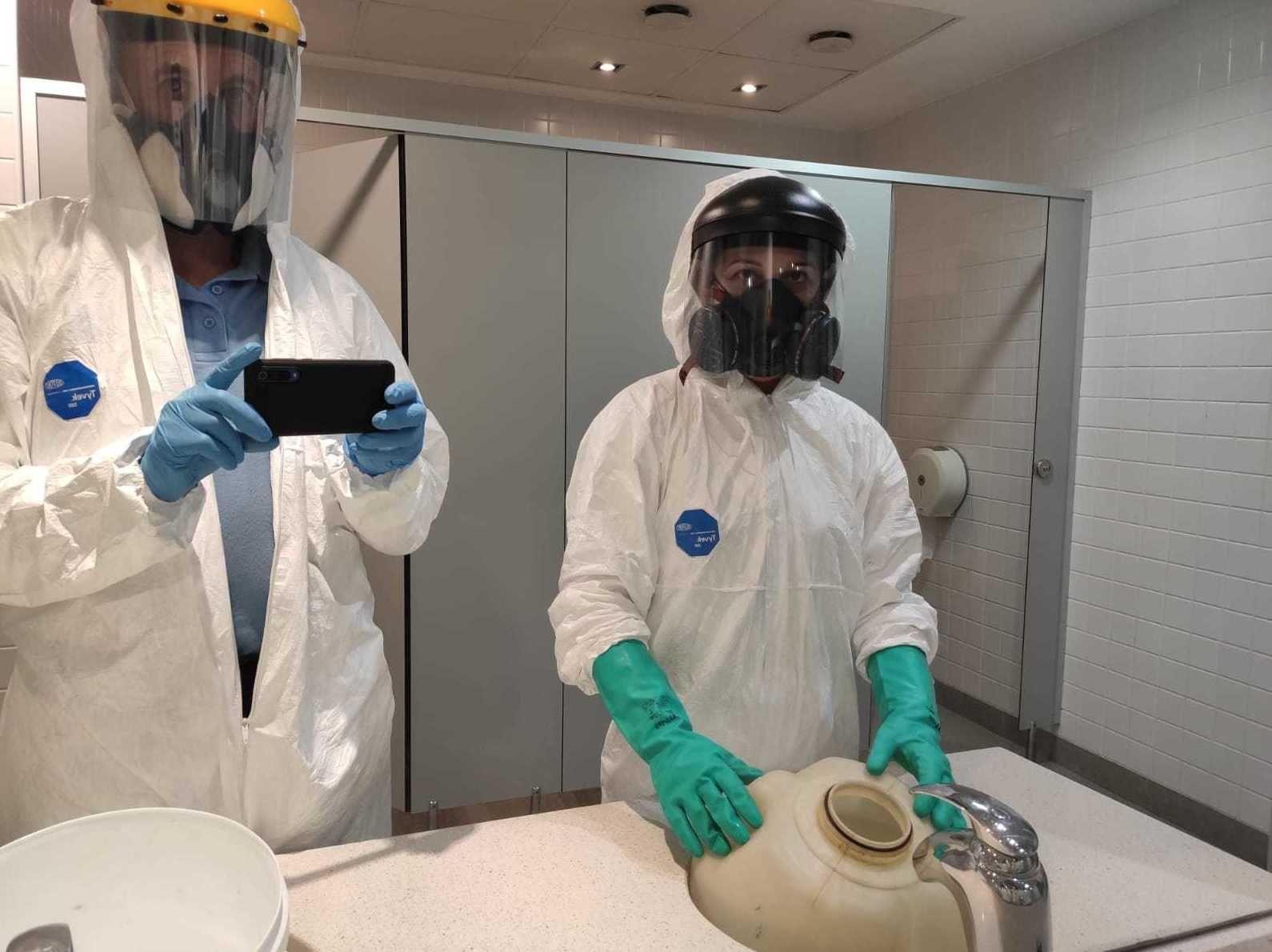 Desinfección de locales contra el Covid-19: Servicios de Garsanben Control de Plagas