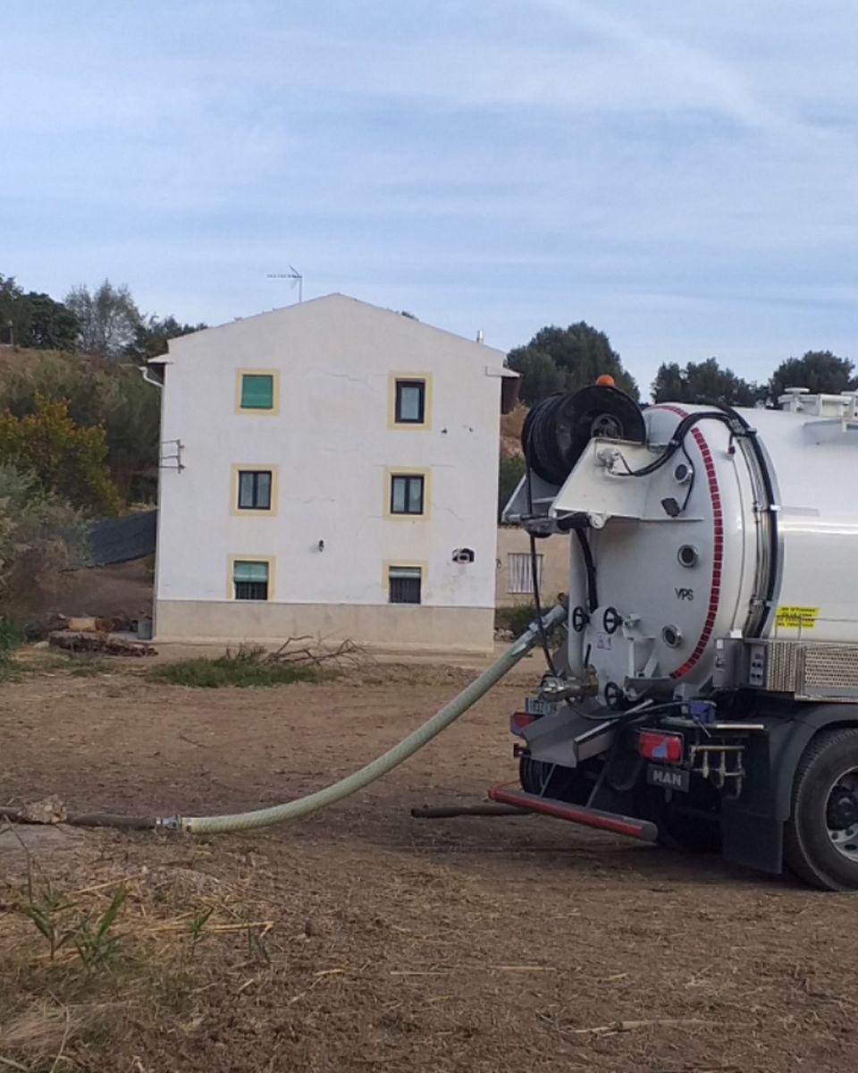 Desatascos de colectores en Teruel
