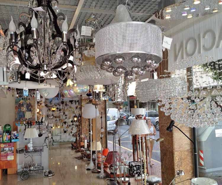 Lamp supply in Santa Eulalia del Río
