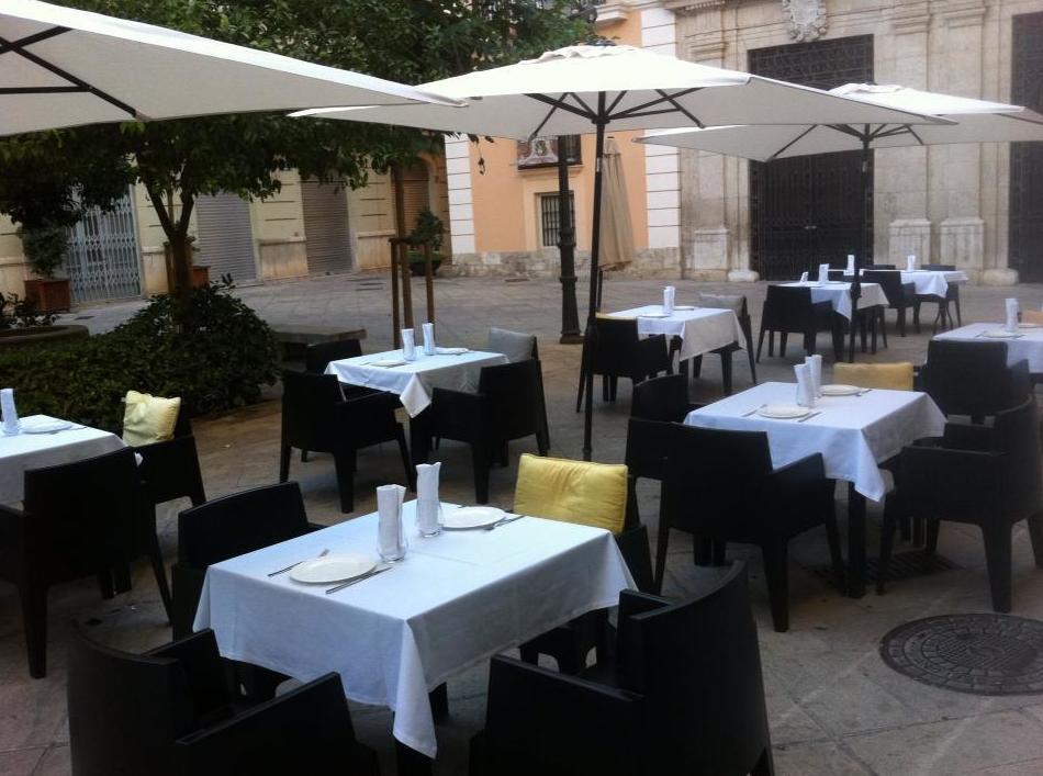 Terraza con encanto en Valencia