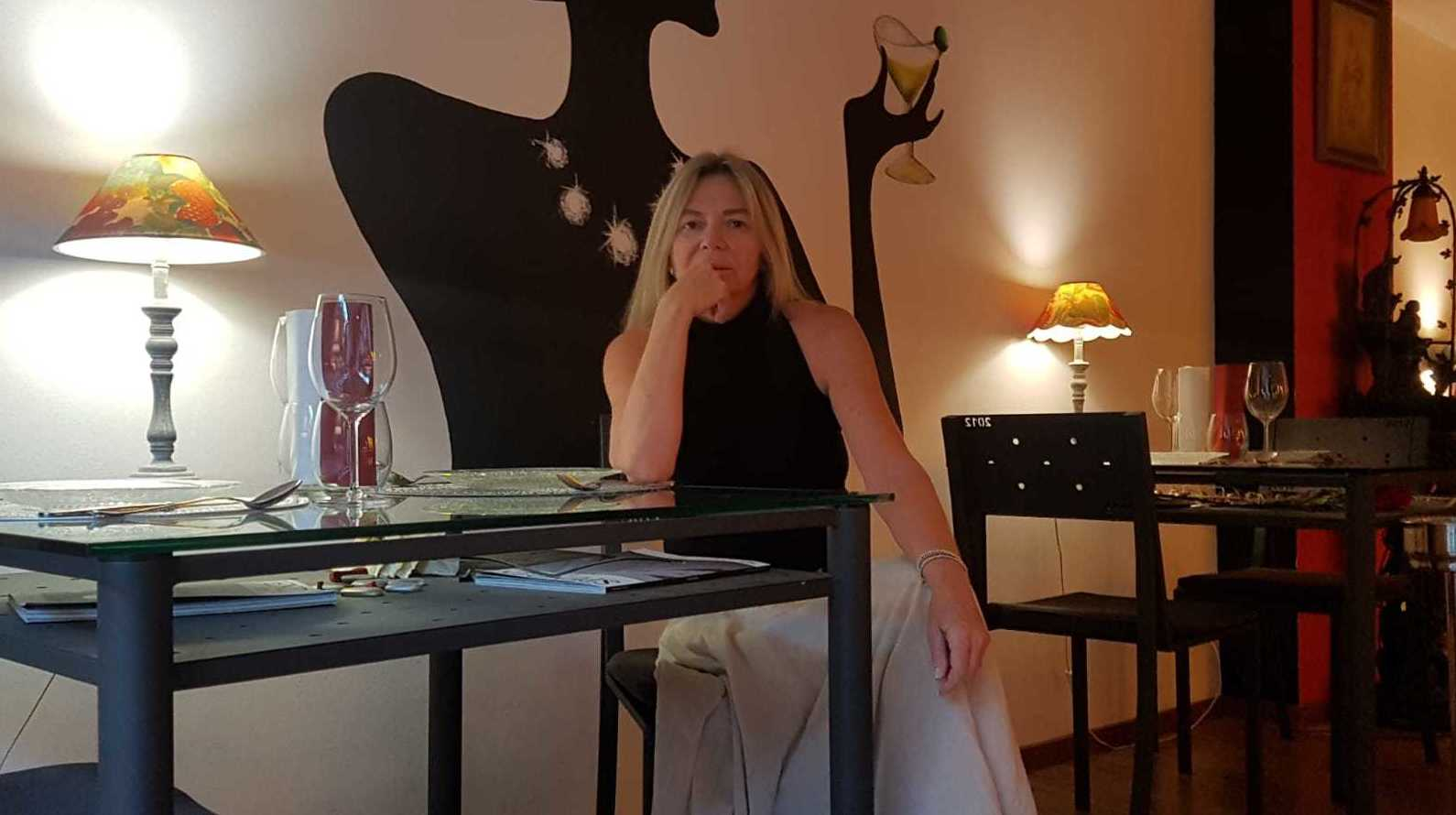 Lourdes Illueca Propietaria Restaurante 2012 el Principio del Fin