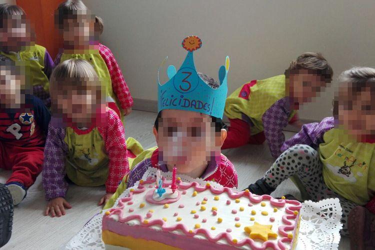 No puede faltar la tarta para su cumpleaños