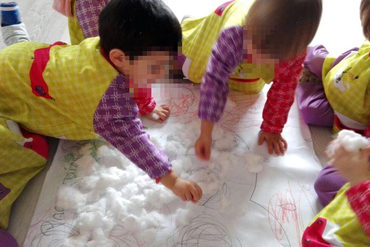 Juegos con algodón