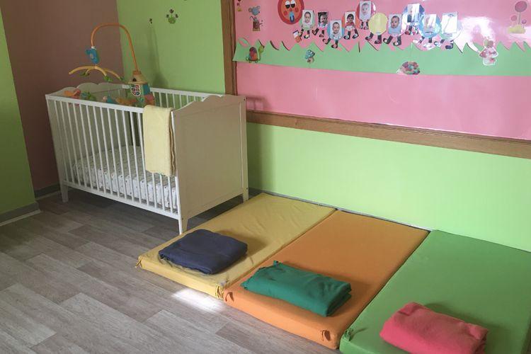 Sala para dormir la siesta