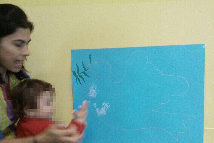 Nuestro mural para el Día de la Paz