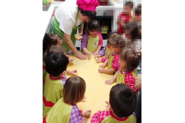 Aprendemos a hacer rosquillas