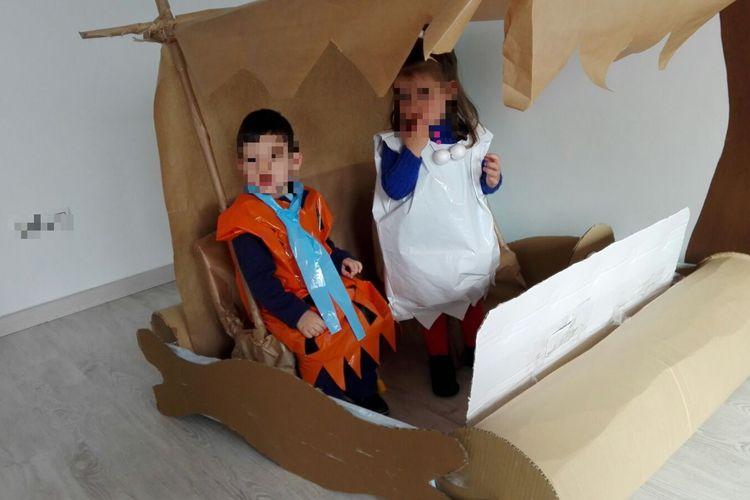 Nuestros pequeños en Carnaval