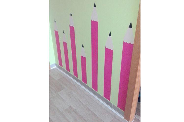 Todas nuestras paredes tienen una divertida decoración