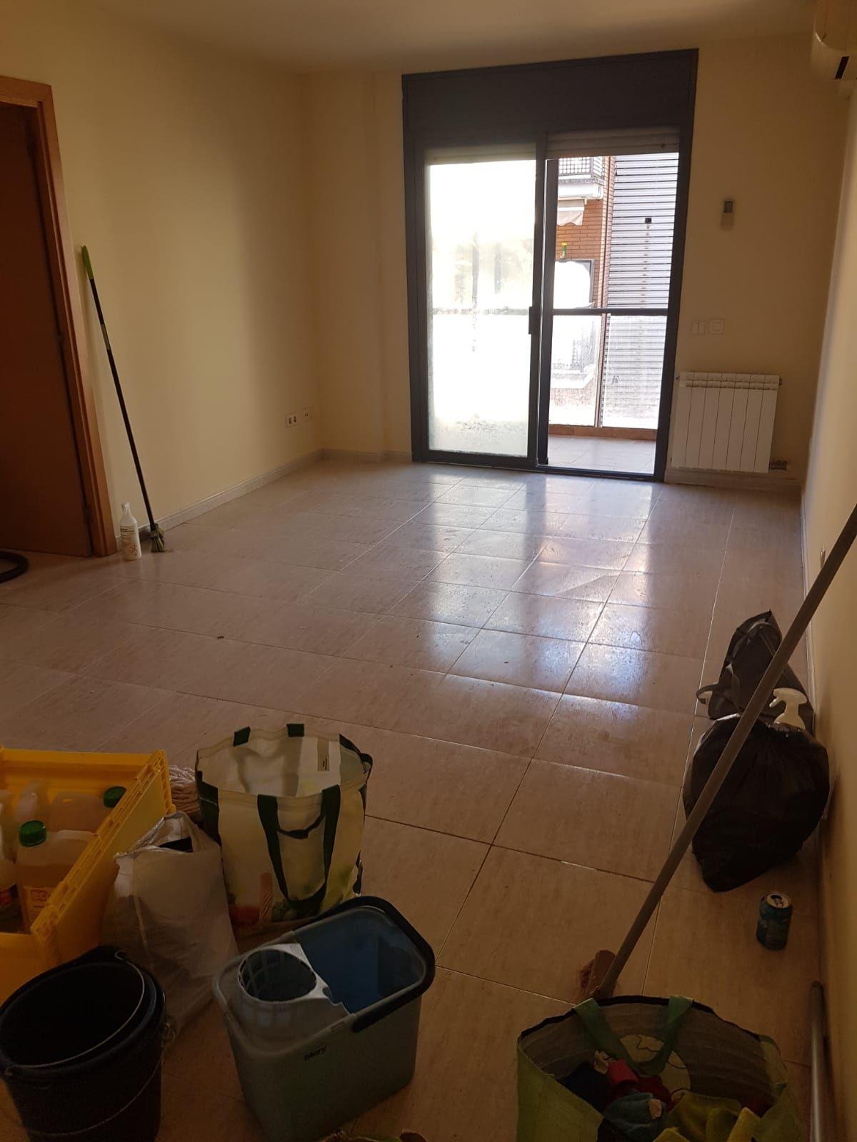 Limpieza un piso - Antes