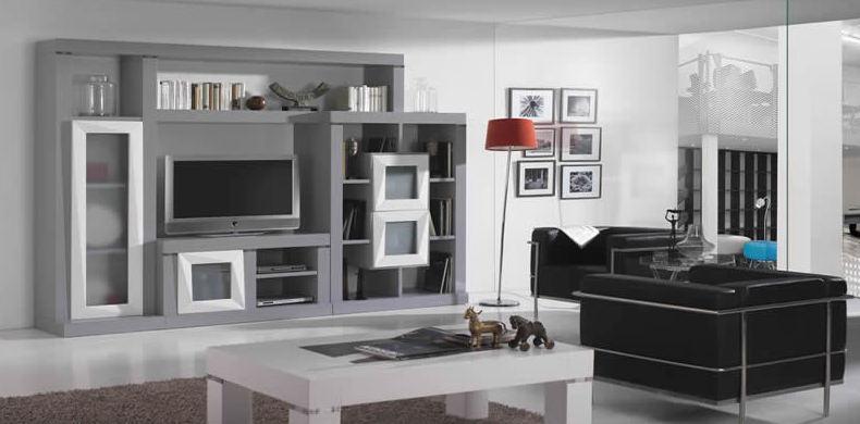 Venta de muebles para salón de estilo moderno en Toledo