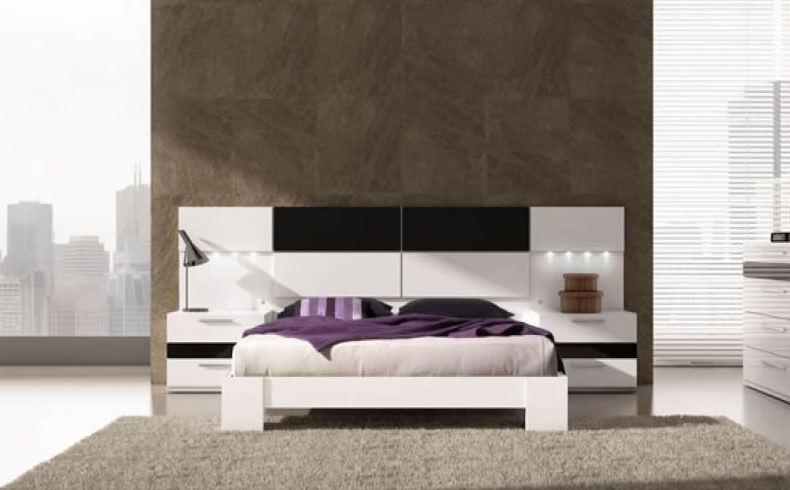 Muebles para dormitorio moderno