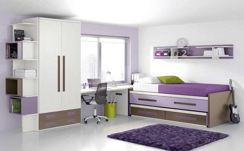 Los dormitorios juveniles con los mejores muebles