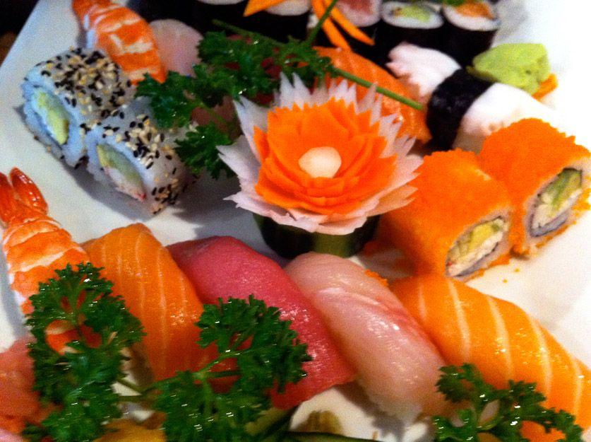 Sushi y comida japonesa de San Bartolomé de Tirajana