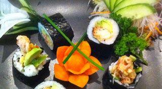 Si sushi mixto y sushimi: Carta de Restaurante SushiMex