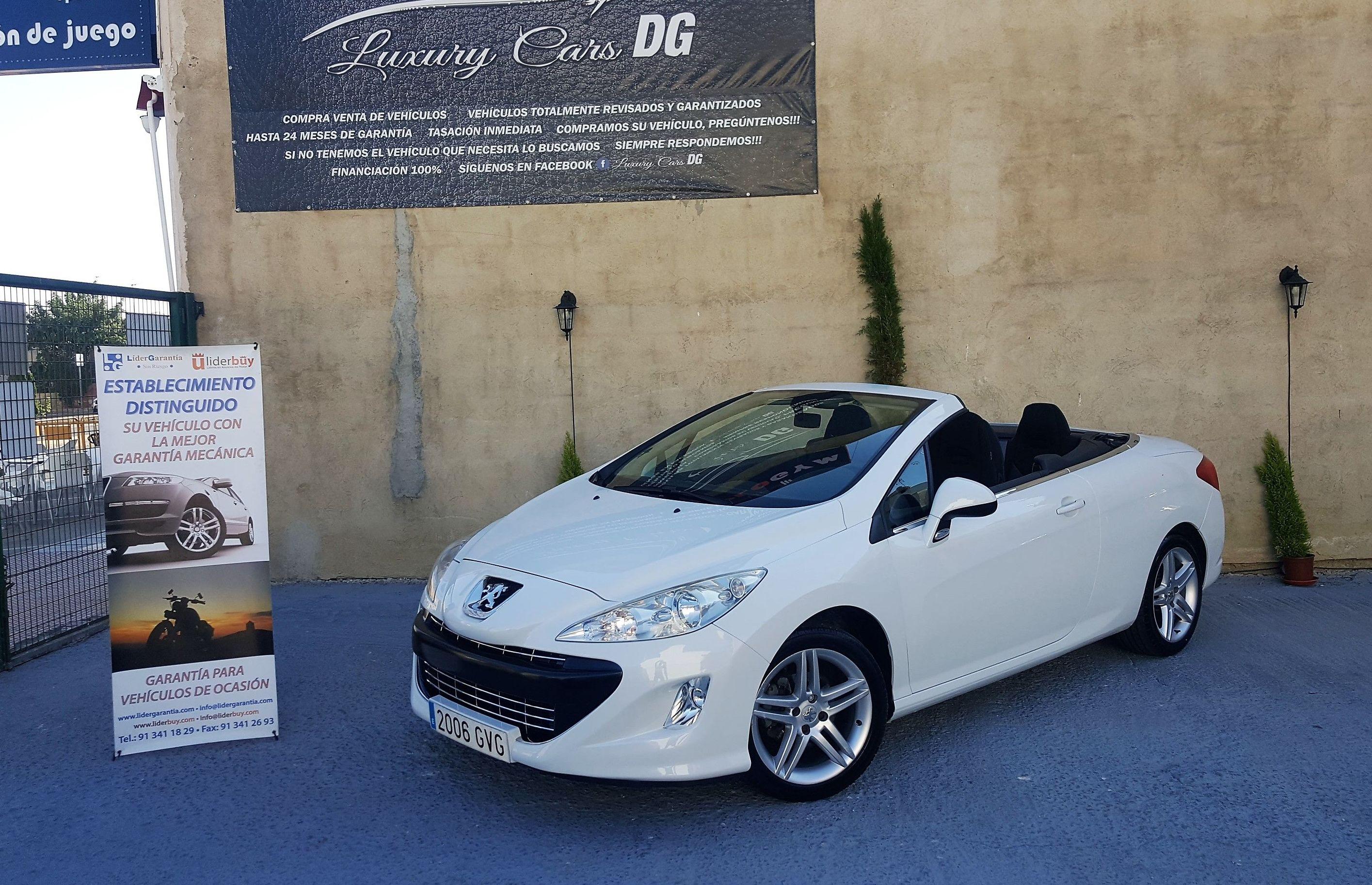 Peugeot 308 CABRIO: Venta de vehículos de Luxury Cars DG