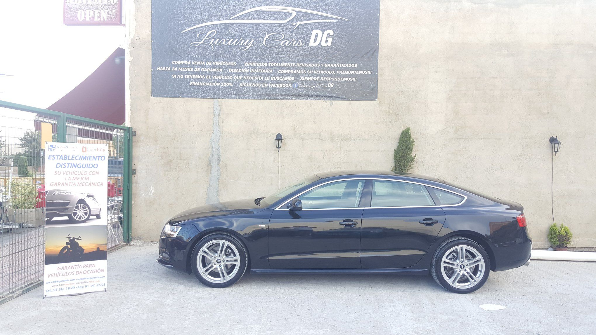 Audi A5 sportback 5 plazas: Venta de vehículos de Luxury Cars DG