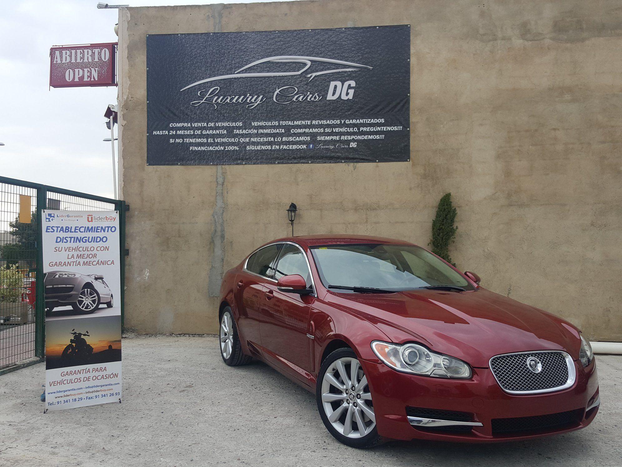 Jaguar XF S: Venta de vehículos de Luxury Cars DG