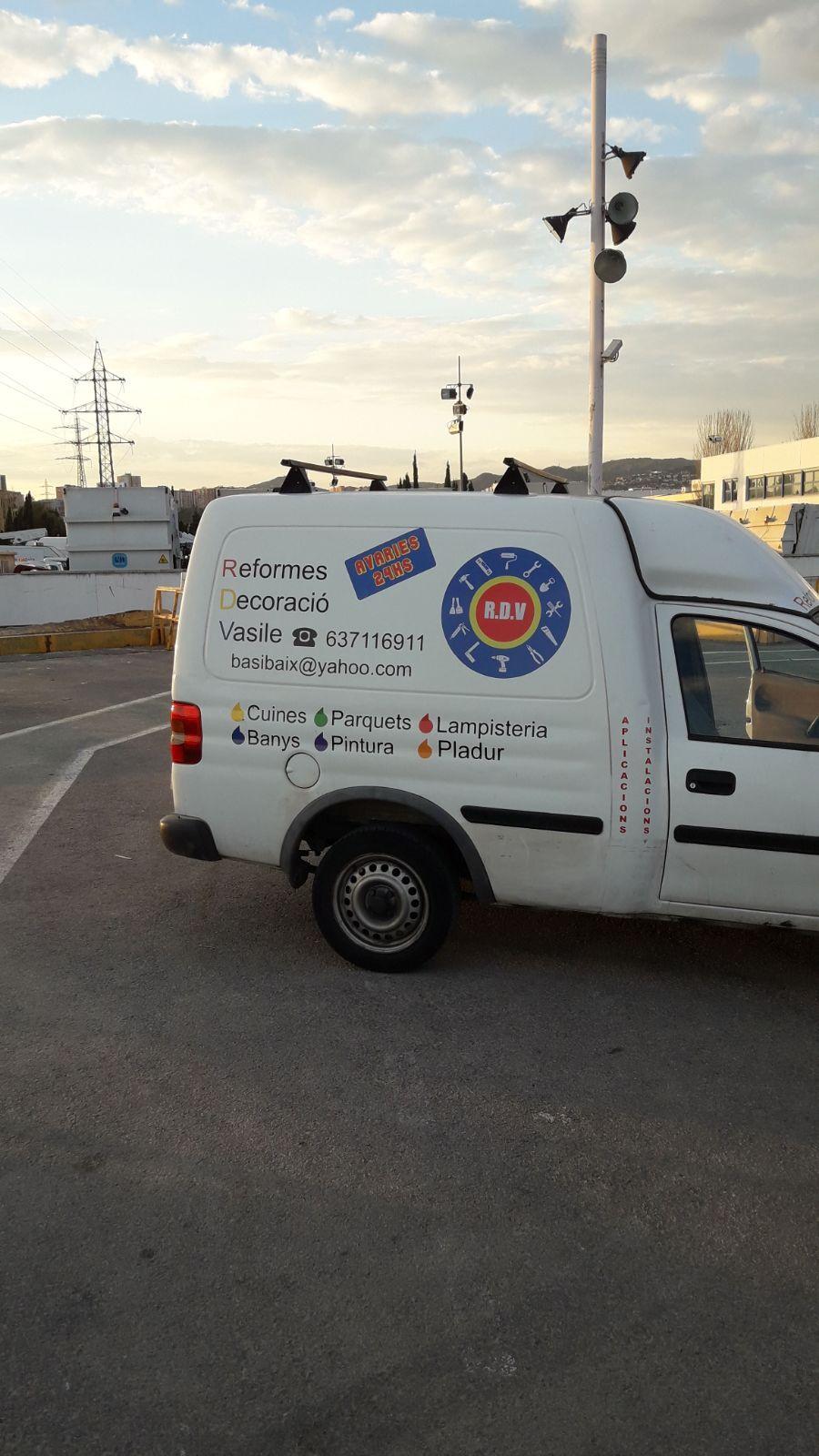Instalación de parquets: Servicios de RDV Multiservicios