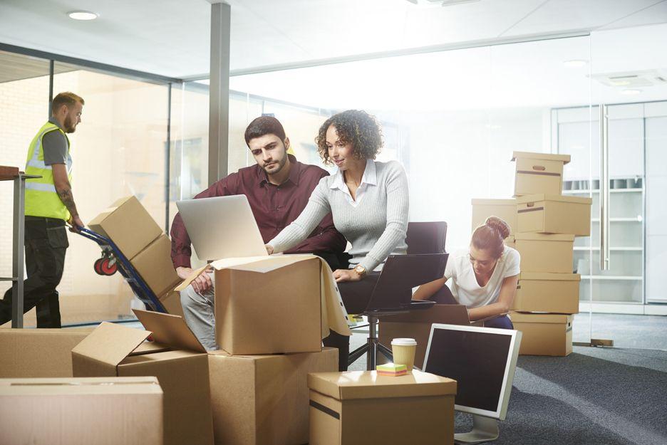 Mudanzas de oficinas y locales en Madrid