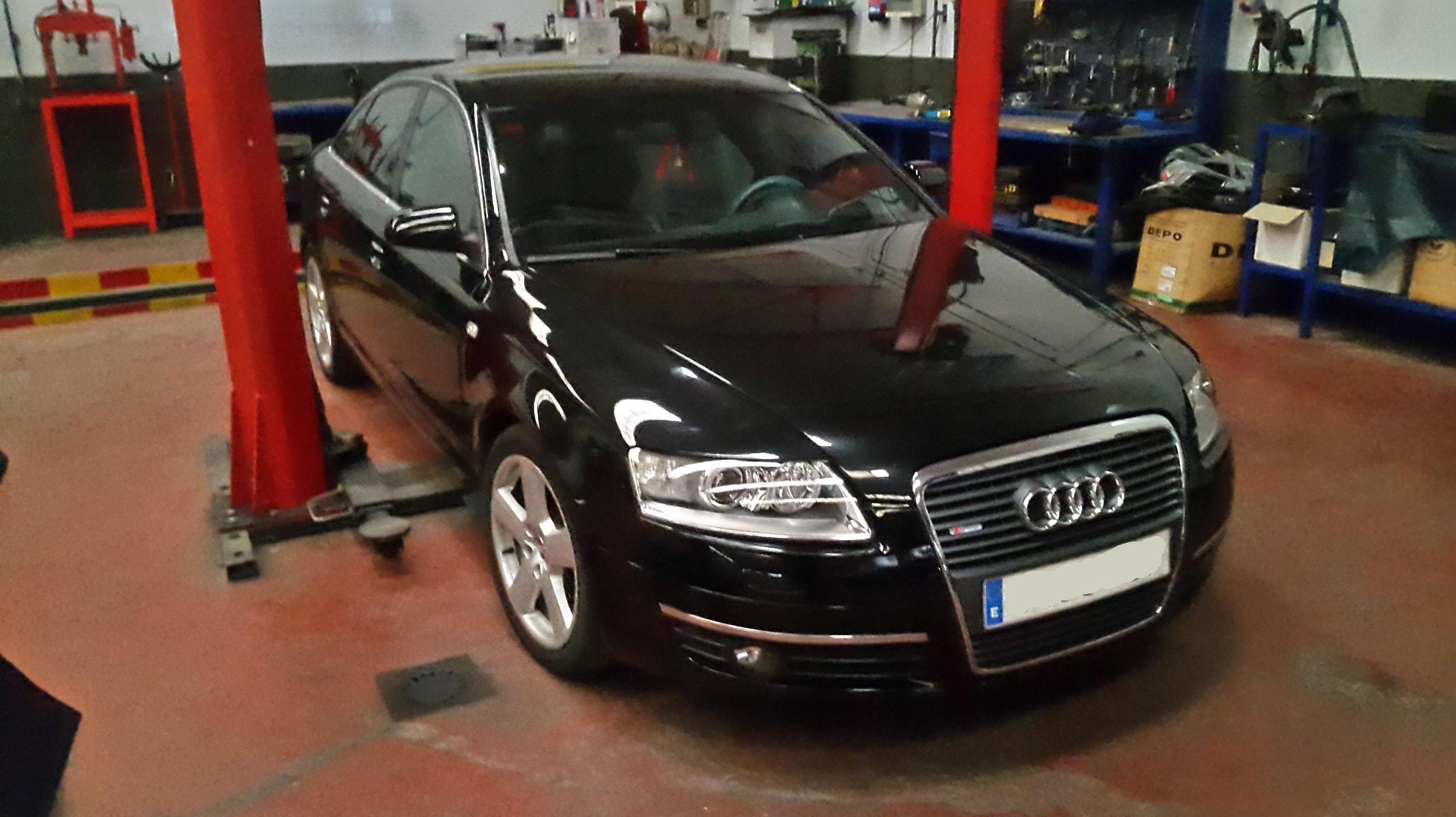 Transformacion Audi A6 a GLP