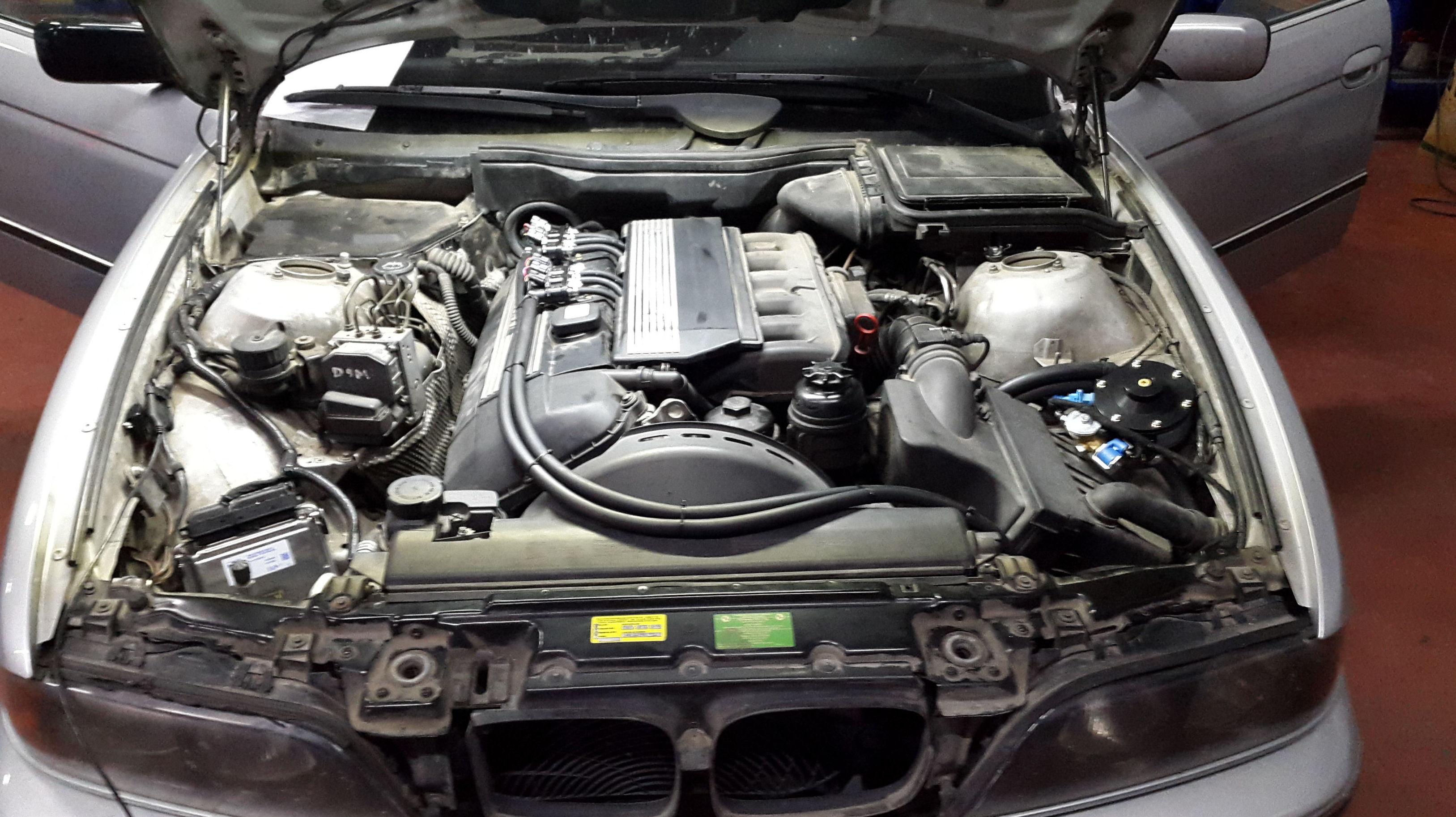 Motor transformado a glp