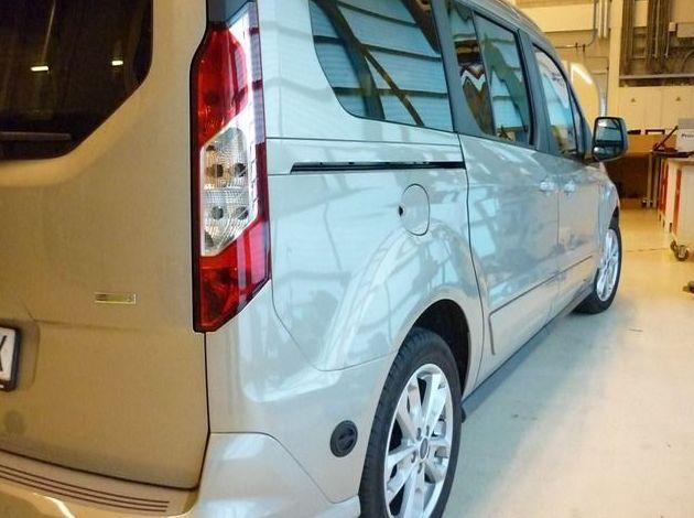 Adaptación de vehículos comerciales a GLP