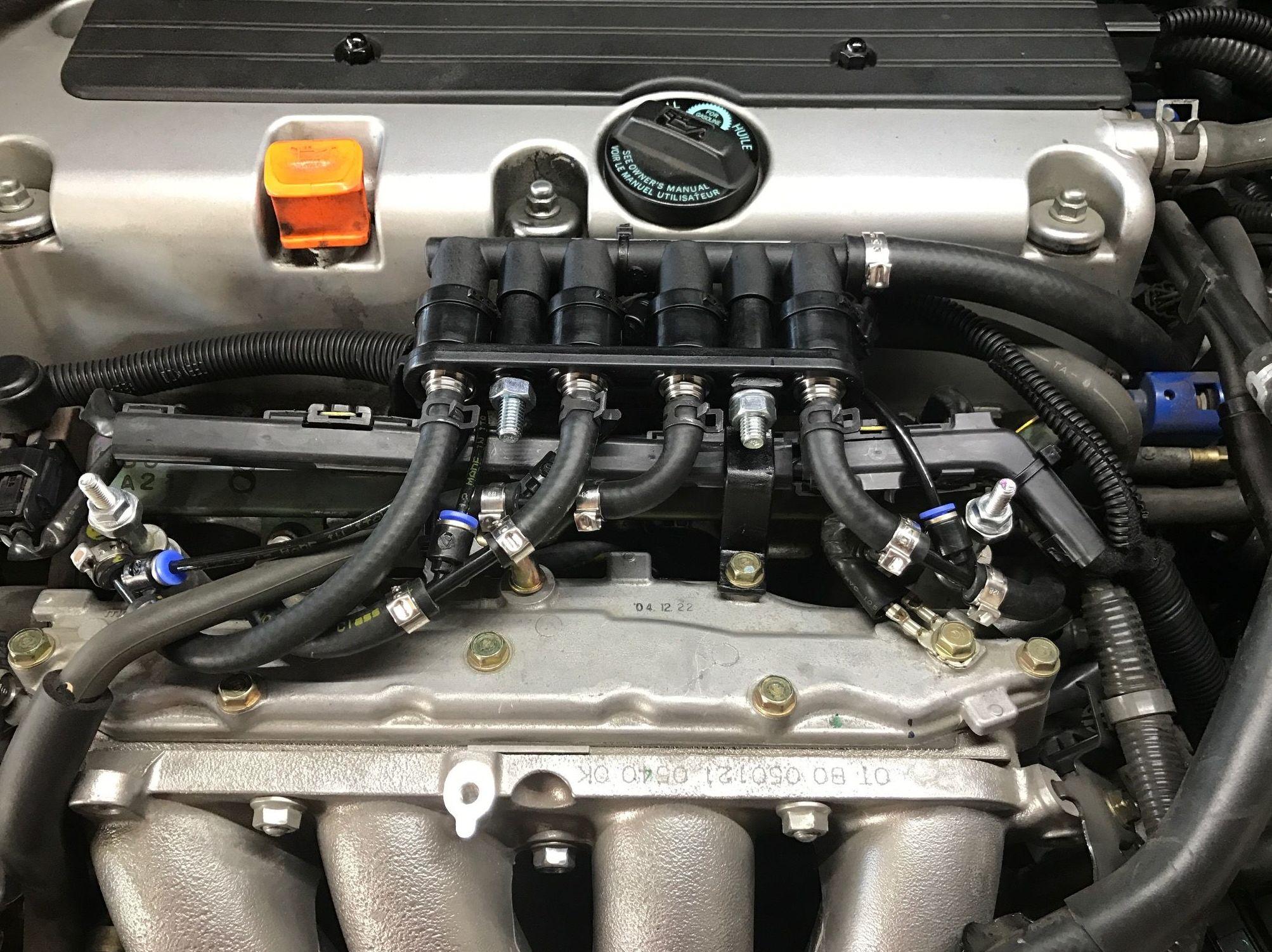 Rampa Inyectores Prins Honda Accord
