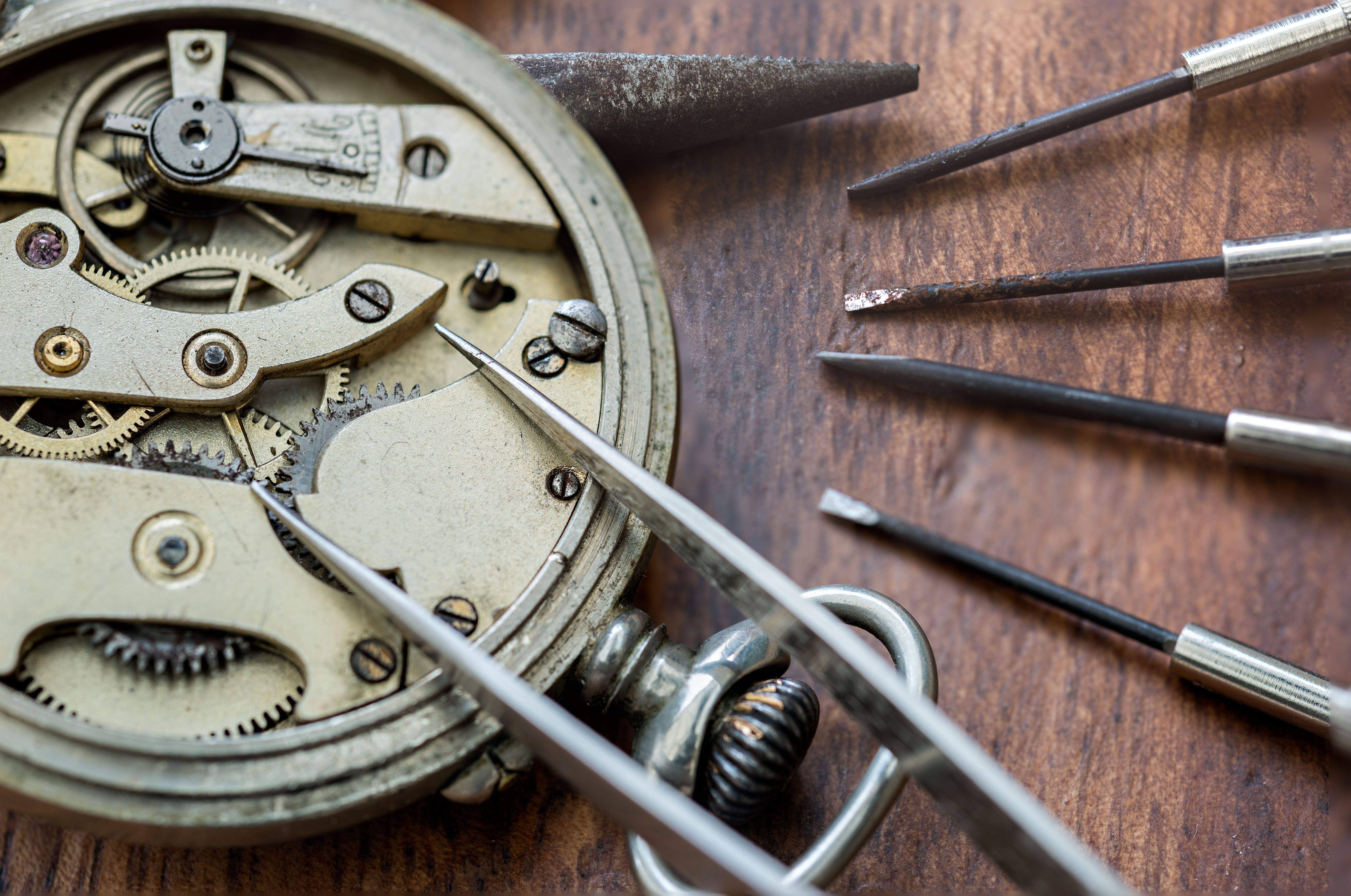 Maestros relojeros