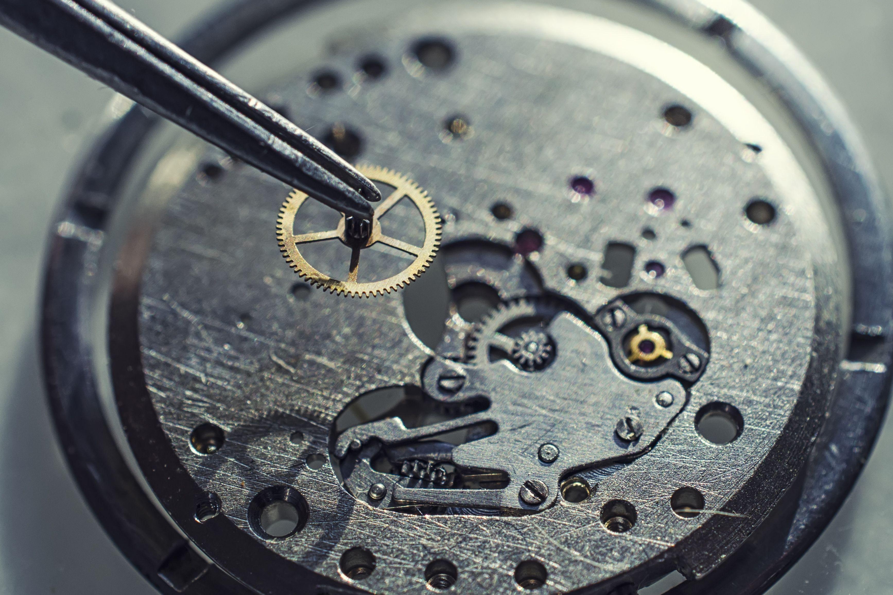 Reparación de relojes de pulsera