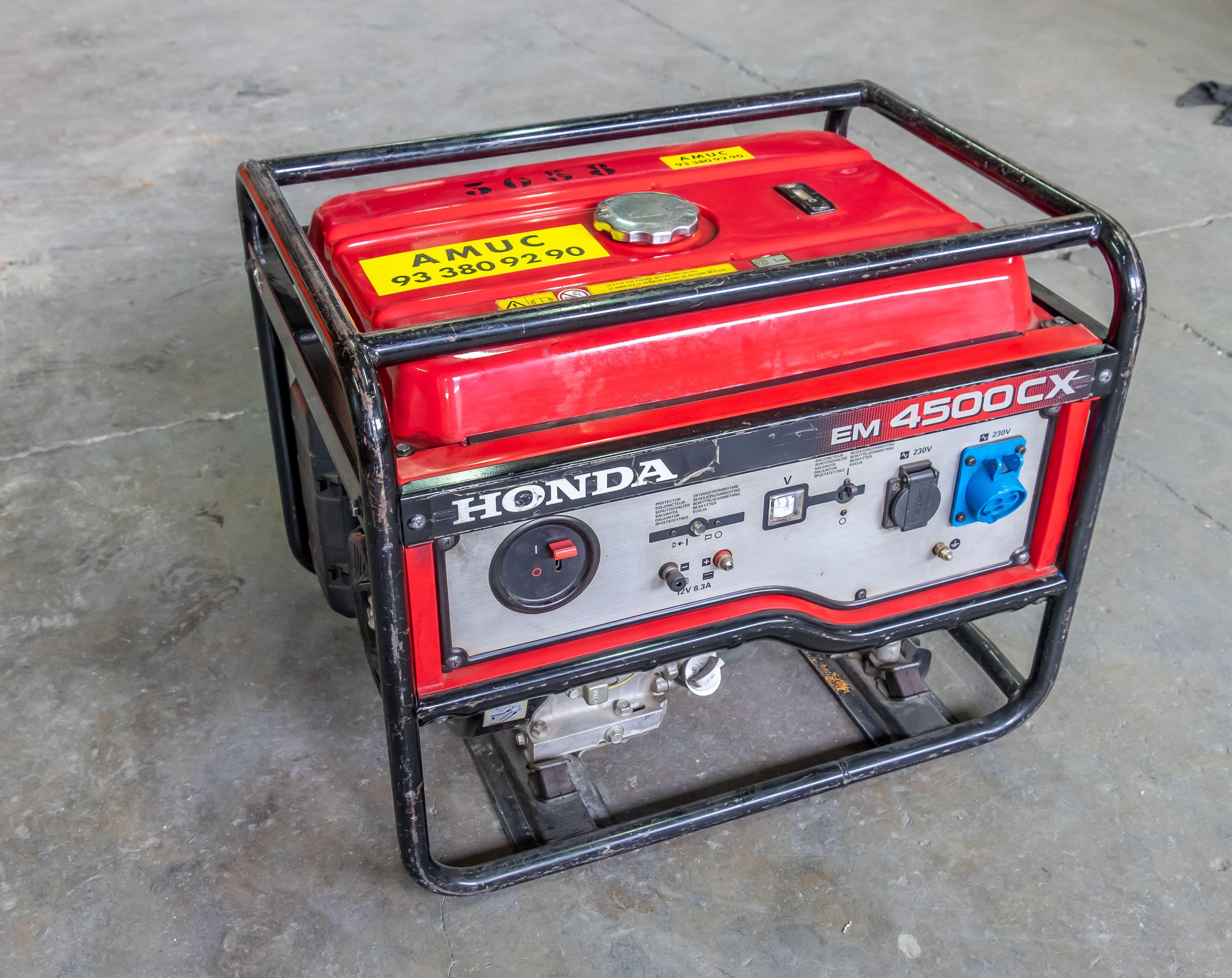 Generadores de alquiler en Amucsa