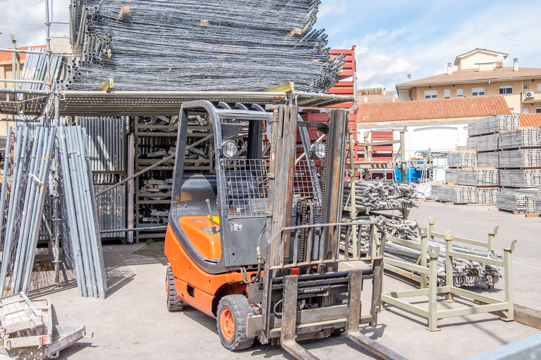 Amucsa, empresa dedicada al alquiler de maquinaria y útiles para la construcción
