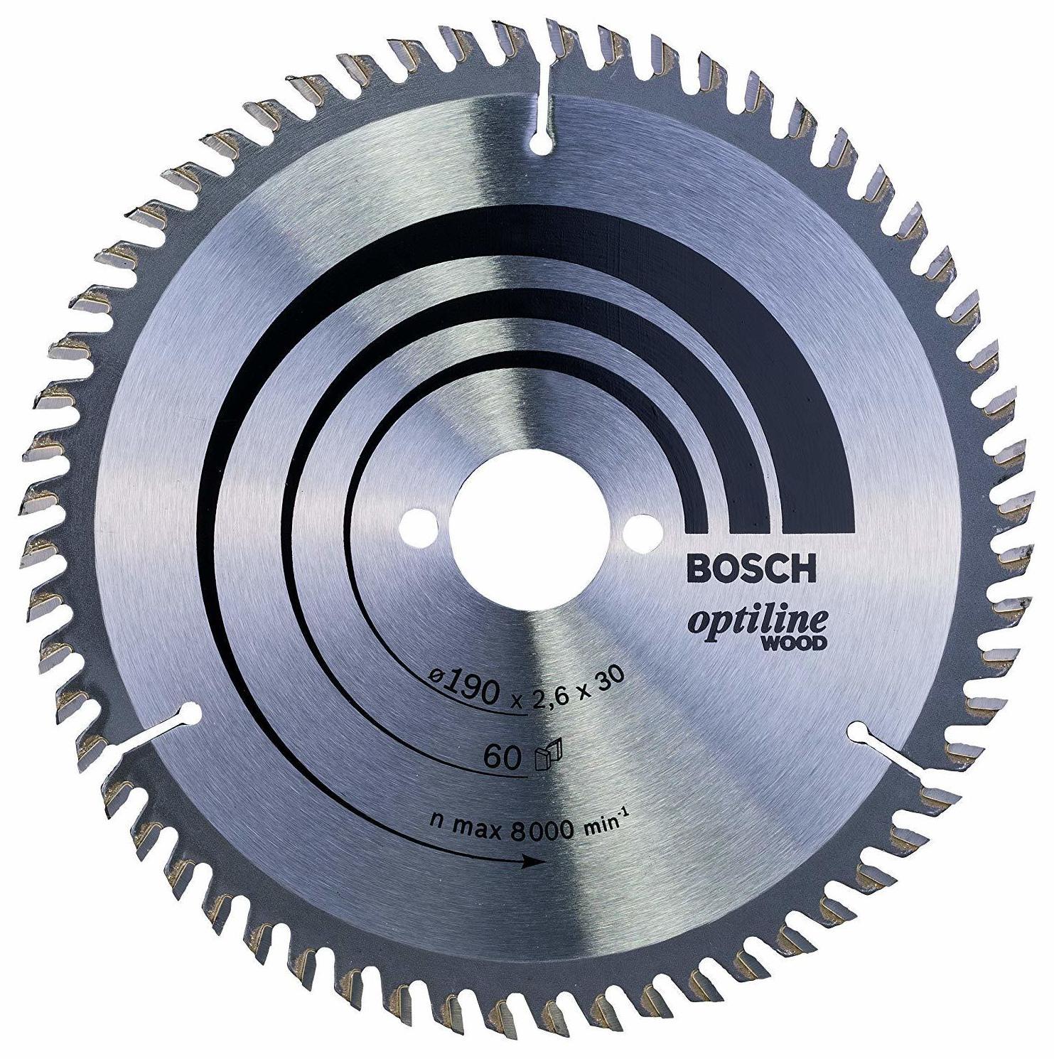 Disco Bosch para madera: TIENDA ONLINE de Amucsa