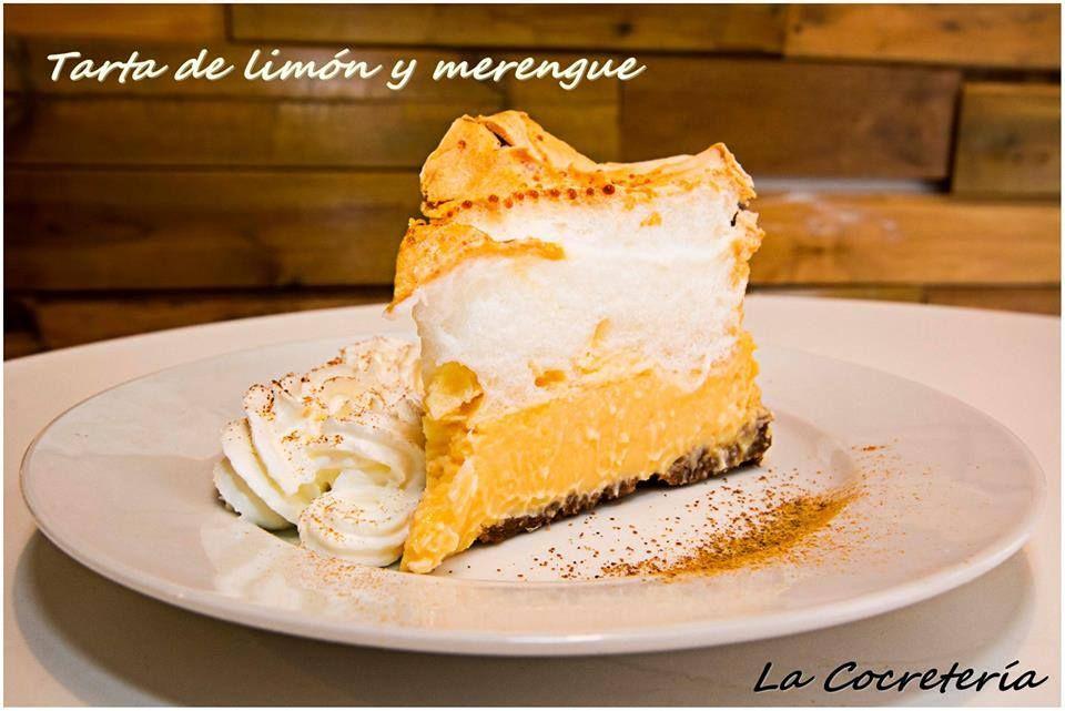Deliciosa tarta de limón y merengue