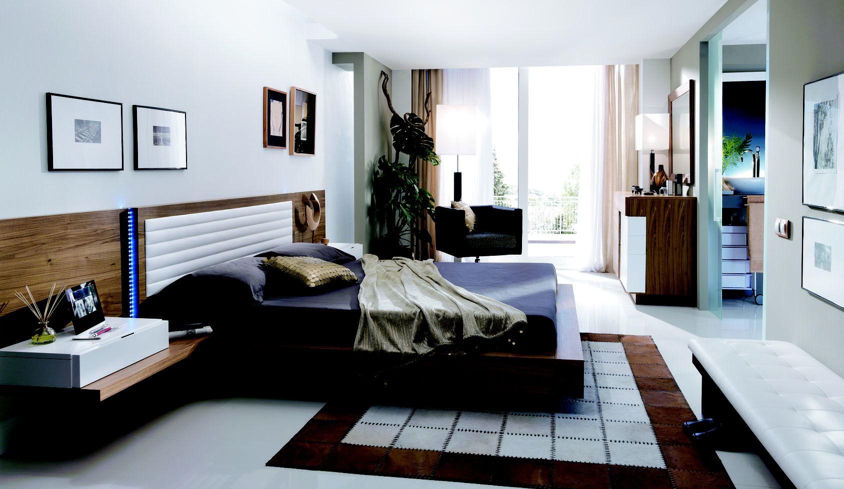 Dormitorio matrimonio de calidad en Gijón