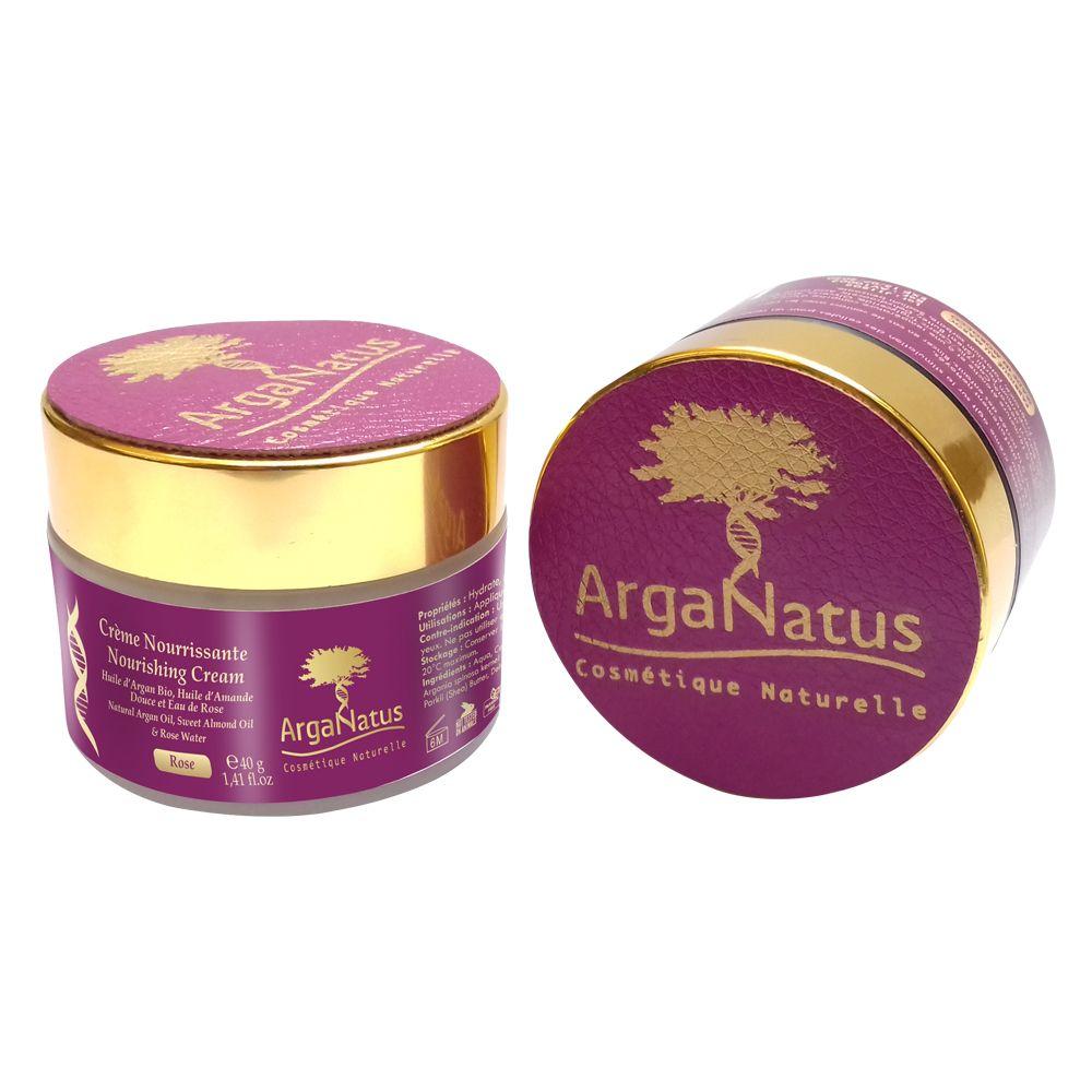 Crema Nutritiva con Rosa: Productos de Argan Aceite Puro